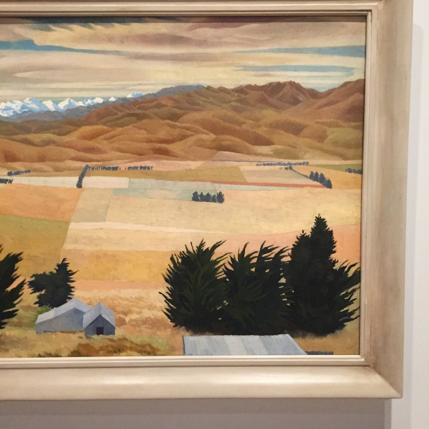 Bill Sutton Christchurch Art Gallery Canterbury Landscape